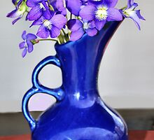 Violets are Blue by Sheri Nye