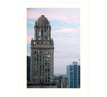 Classic Architecture, Chicago Skyline - Chicago Ill. Art Print
