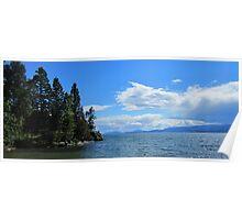 Flathead Lake Poster