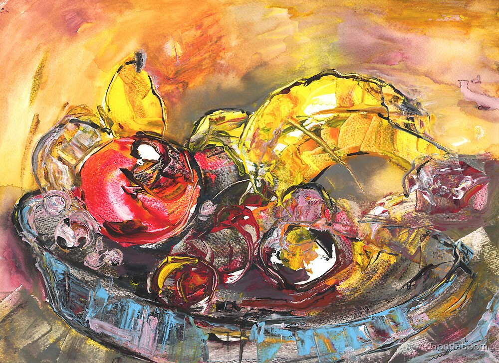 Fruit Basket by Goodaboom