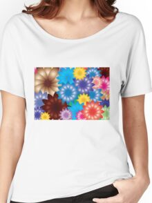 Flowers! Women's Relaxed Fit T-Shirt