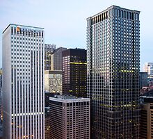 Chicago Skyline - Kemper Building, Chicago Ill. by Mike Koenig