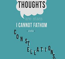 TFIOS: Thoughts and Constellations by Sabrina Goodnature