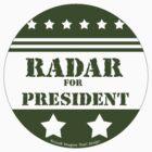 For President Radar by Traci VanWagoner