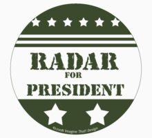 For President Radar by Traci VanWagoner