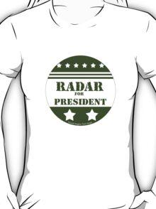 For President Radar T-Shirt