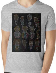 All 11 Doctors Mens V-Neck T-Shirt