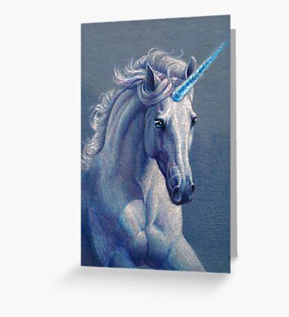 Jewel the Unicorn Greeting Card