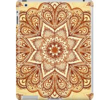 Ornate vintage vector napkin iPad Case/Skin