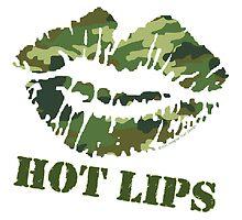 MASH Hot Lips by ImagineThatNYC