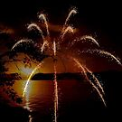 FIREWORKS AT THE LAKE~ by RoseMarie747