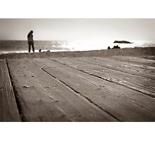 Laguna Beach Walk Photographic Print