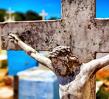 Christ in the Colorful Cemetery by 75Central