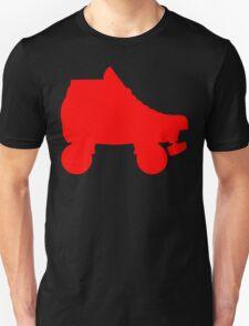 red rollerskate T-Shirt