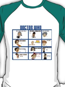 Doctor Who: 50 Years Through Time and Space T-Shirt