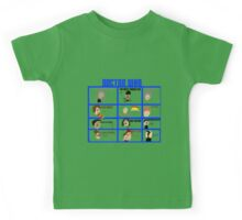 Doctor Who: 50 Years Through Time and Space Kids Tee