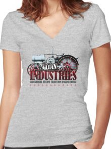 Titan Industries Women's Fitted V-Neck T-Shirt