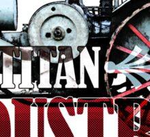Titan Industries Sticker