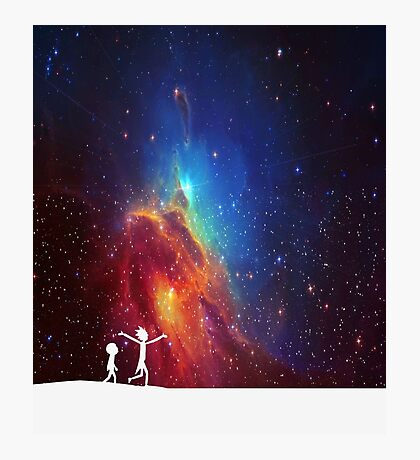 Rick and Morty - Star Viewing 2 Photographic Print