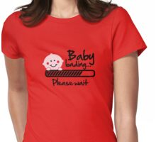 baby loading Womens Fitted T-Shirt