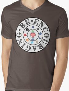 Be Encouraging-Aim to Love Mens V-Neck T-Shirt