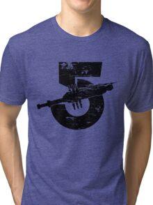 Babylon 5 Vintage (Black) Tri-blend T-Shirt