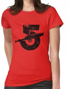 Babylon 5 Vintage (Black) Womens Fitted T-Shirt