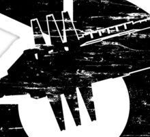 Babylon 5 Vintage (Black) Sticker
