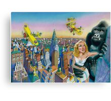 KING KONG 1933 Canvas Print