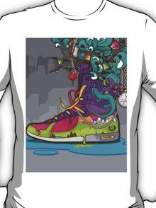 Nature Converse Shoe T-Shirt
