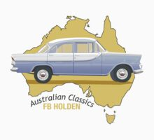 FB Holden - Classic Australian cars Kids Clothes