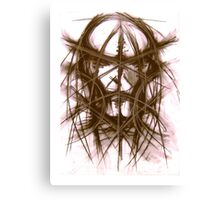 By Daemons be Driven Canvas Print