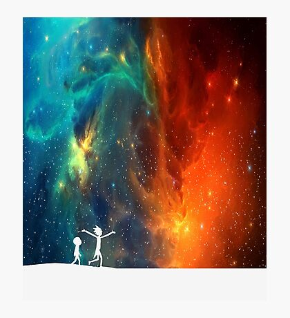Rick and Morty - Star Viewing 3 Photographic Print