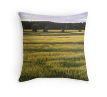 Fields of Barley Throw Pillow