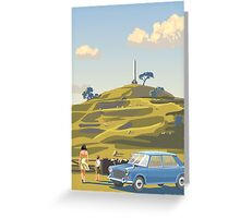 One Tree Hill, Auckland Greeting Card