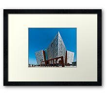 Titanic Belfast Framed Print