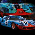 Gulf GT40 2 by Stuart Row