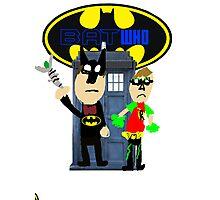 Bat Who Photographic Print
