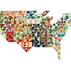 United States Geometric by indurdesign