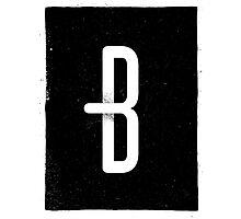 B Photographic Print