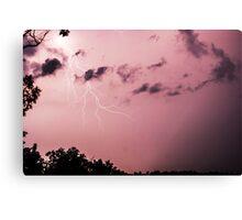 Missouri Early Summer Storm Canvas Print