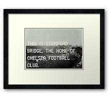 Chelsea Football Club Framed Print