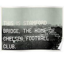 Chelsea Football Club Poster