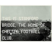 Chelsea Football Club Photographic Print