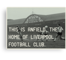 Liverpool Football Club Canvas Print