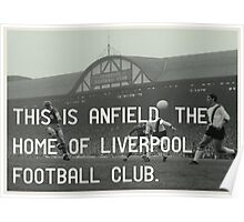 Liverpool Football Club Poster
