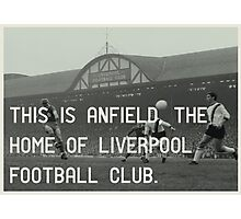 Liverpool Football Club Photographic Print
