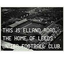 Leeds United Football Club Photographic Print