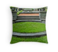 Flourishes Continued Throw Pillow