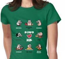 KINO loves Hong Kong Womens Fitted T-Shirt